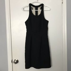 Lauren Conrad Black Dress with Bow Detail